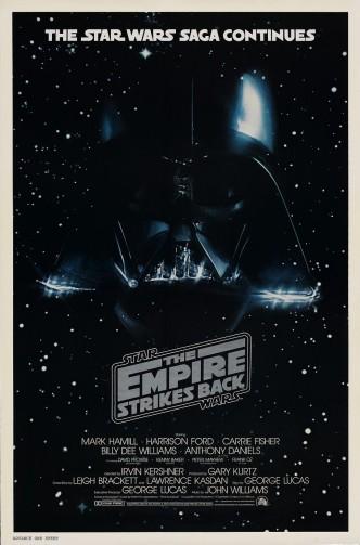 Звёздные войны. Эпизод V: Империя наносит ответный удар / Star Wars: Episode V - The Empire Strikes Back (1980): постер