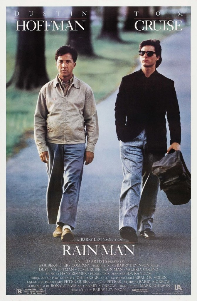 Человек дождя / Rain Man (1988): постер
