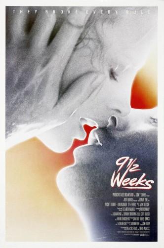 Девять с половиной недель / Nine 1/2 Weeks (1986): постер