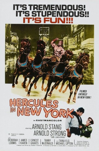 Геркулес в Нью-Йорке / Hercules in New York (1969): постер