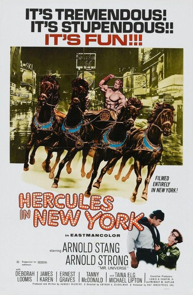 Геркулес в Нью-Йорке / Hercules in New York (1969): постер