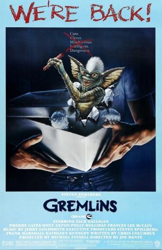 Гремлины / Gremlins (1984): постер