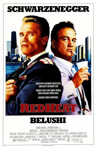 Красная жара / Red Heat (1988): постер
