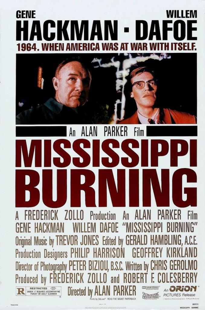 Миссисипи в огне / Mississippi Burning (1988): постер