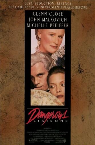 Опасные связи / Dangerous Liaisons (1988): постер
