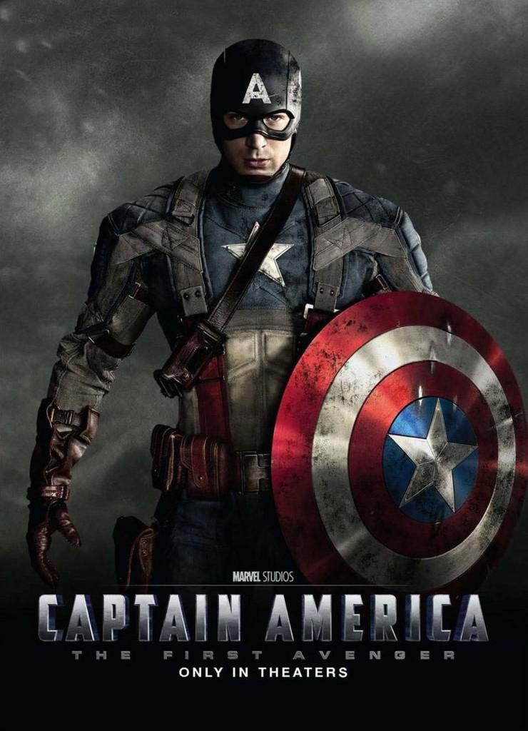 Первый мститель / Captain America: The First Avenger (2011): постер