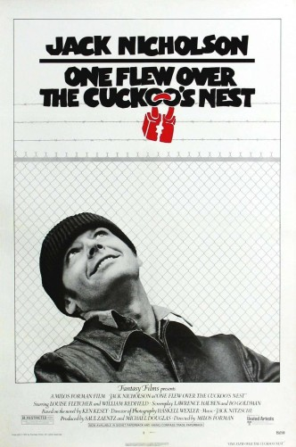 Пролетая над гнездом кукушки / One Flew Over the Cuckoo's Nest (1975): постер