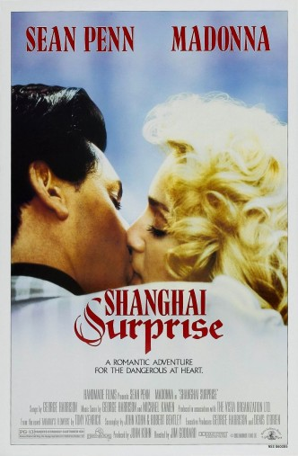 Шанхайский сюрприз / Shanghai Surprise (1986): постер