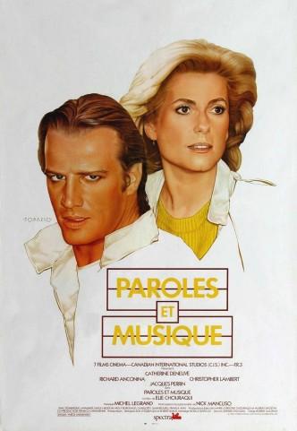 Слова и музыка / Paroles et musique (1984): постер