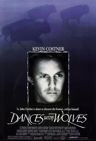 Танцующий с волками / Dances with Wolves (1990): постер
