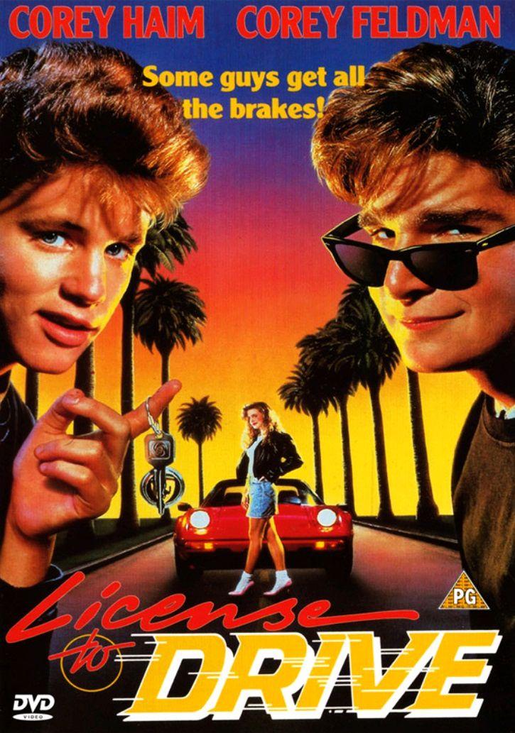Водительские права / License to Drive (1988): постер