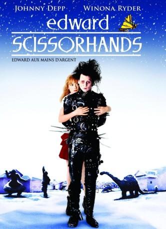 Эдвард Руки-ножницы / Edward Scissorhands (1990): постер