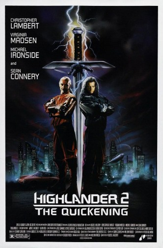 Горец 2: Оживление / Highlander II: The Quickening (1991): постер