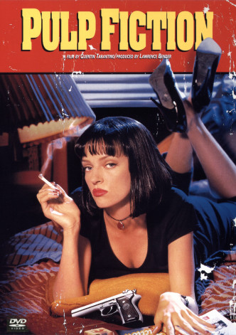 Криминальное чтиво / Pulp Fiction (1994): постер