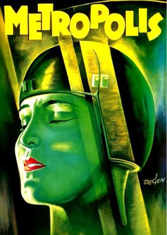 Метрополис / Metropolis (1927): постер