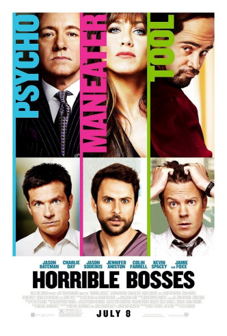 Несносные боссы / Horrible Bosses (2011): постер