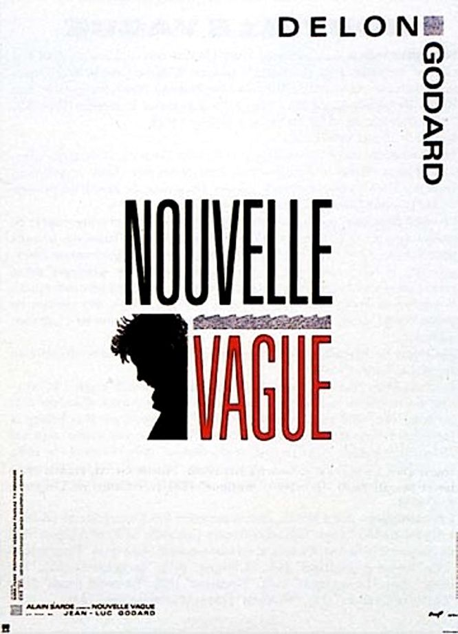 Новая волна / Nouvelle vague (1990): постер
