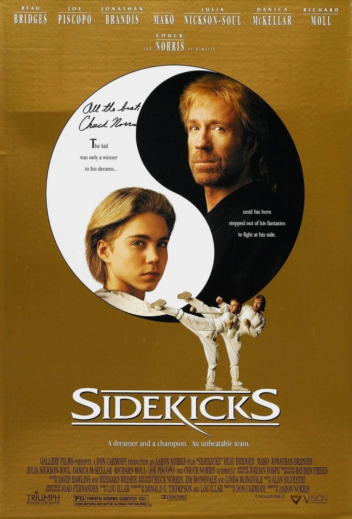 Парный удар / Sidekicks (1992): постер