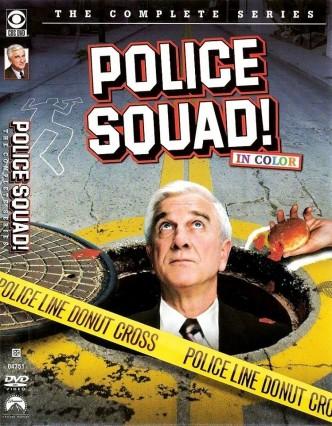Полицейский отряд! / Police Squad! (1982) (телесериал): постер