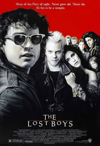 Пропащие ребята / The Lost Boys (1987): постер