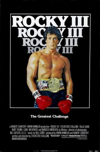 Рокки 3 / Rocky III (1982): постер