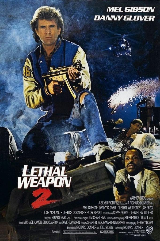 Смертельное оружие 2 / Lethal Weapon 2 (1989): постер