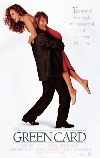 Вид на жительство / Green Card (1990): постер