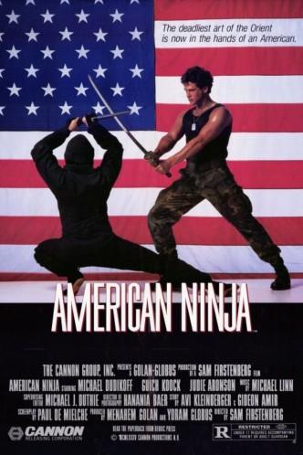 Американский ниндзя / American Ninja (1985): постер