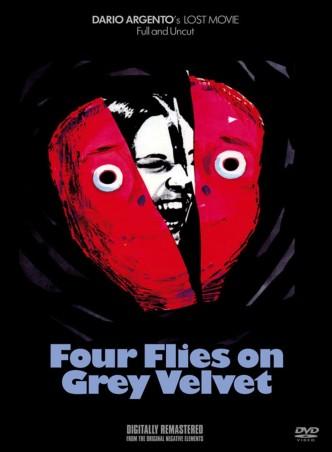 Четыре мухи на сером бархате / 4 mosche di velluto grigio / 4 mouches de velours gris (1971): постер