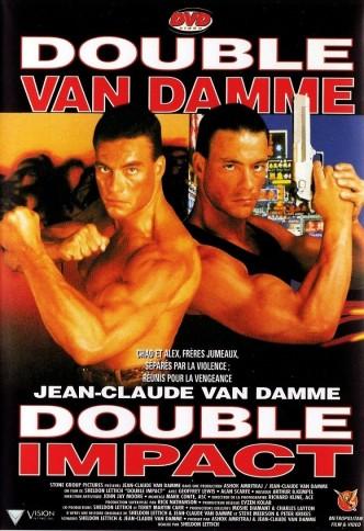 Двойной удар / Double Impact (1991): постер