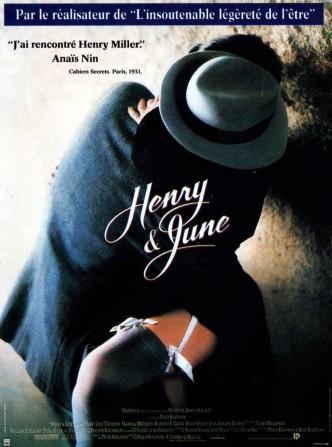 Генри и Джун / Henry & June (1990): постер