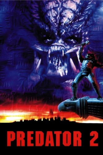 Хищник 2 / Predator 2 (1990): постер