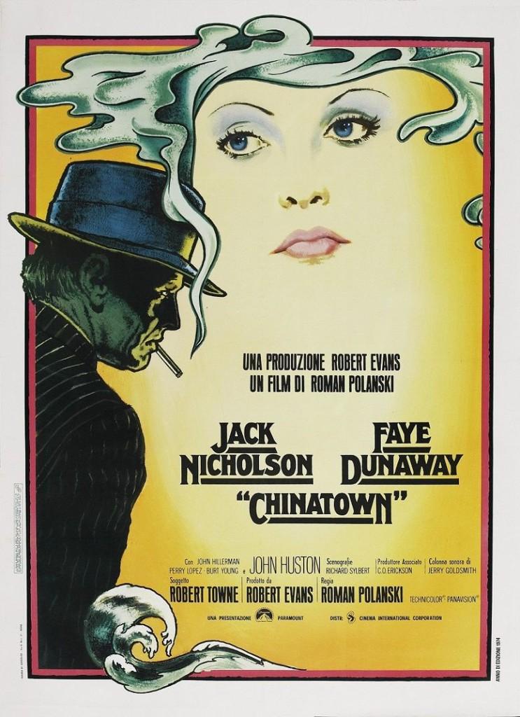 Китайский квартал / Chinatown (1974): постер