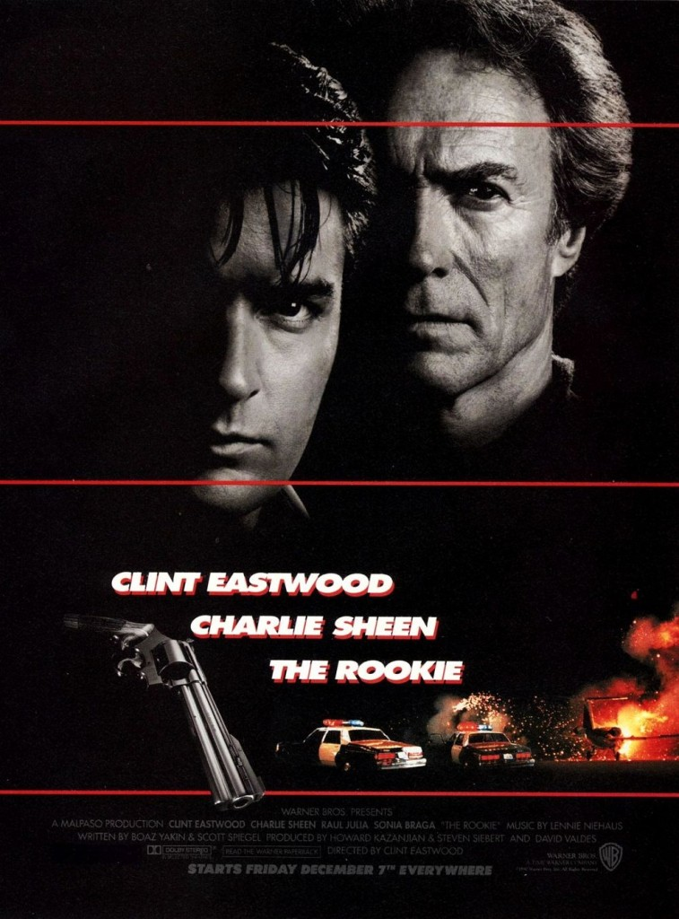 Новичок / The Rookie (1990): постер