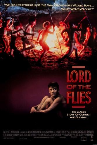 Повелитель мух / Lord of the Flies (1990): постер