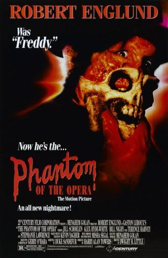 Призрак Оперы / The Phantom of the Opera (1989): постер