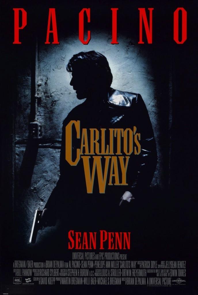 Путь Карлито / Carlito's Way (1993): постер