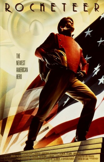 Ракетчик / The Rocketeer (1991): постер