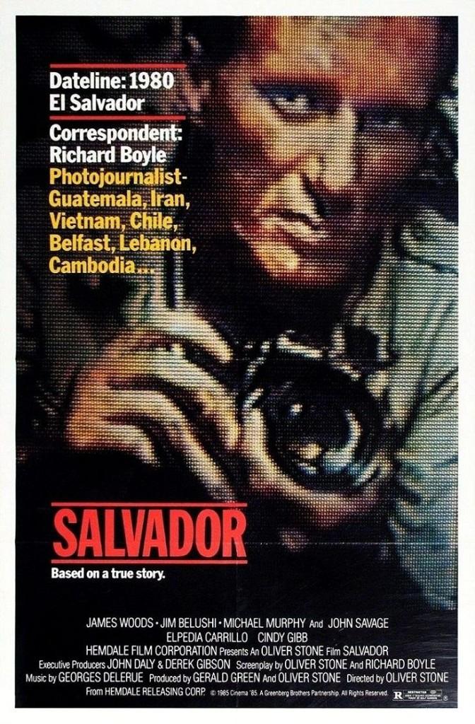 Сальвадор / Salvador (1986): постер