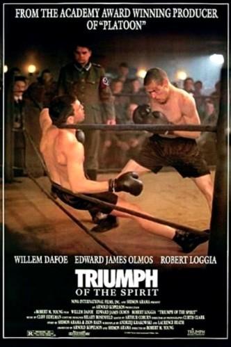 Триумф духа / Triumph of the Spirit (1989): постер