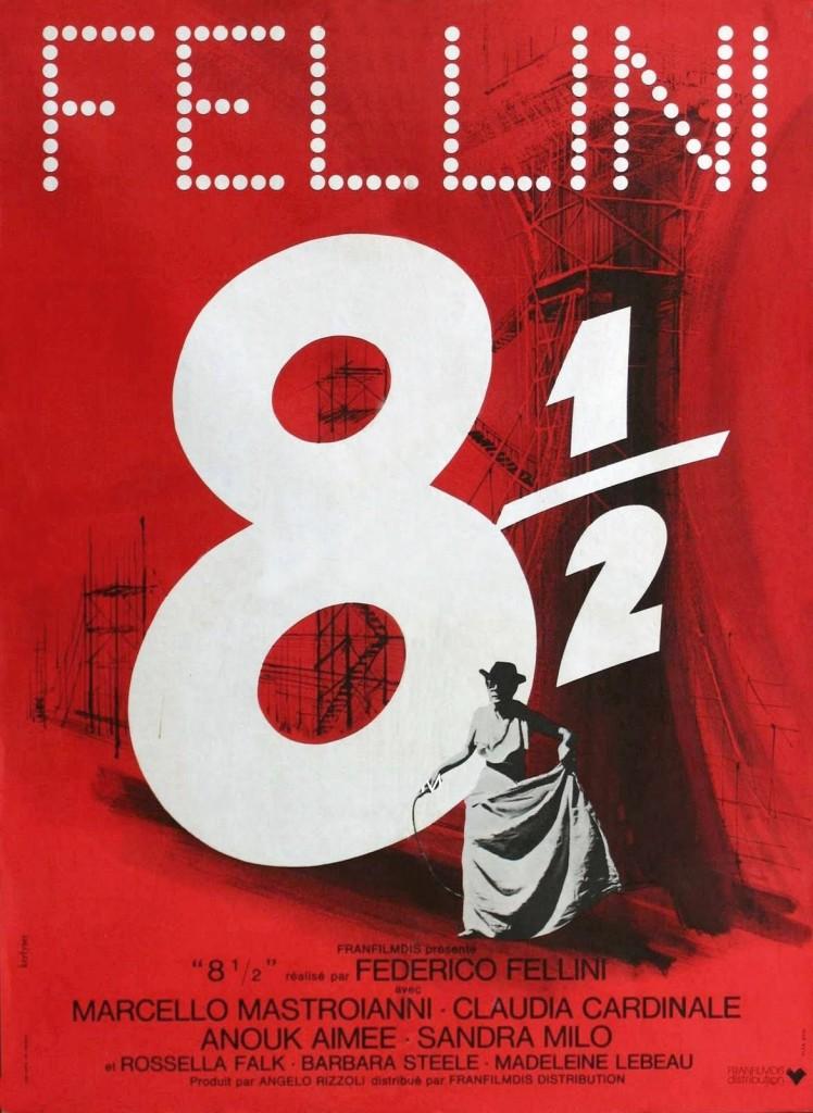 Восемь с половиной / 8 1/2 (1963): постер