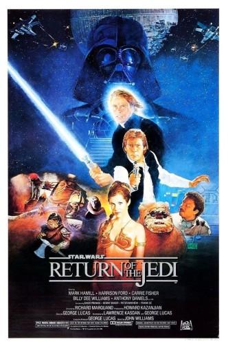 Звёздные войны. Эпизод VI: Возвращение джедая / Star Wars: Episode VI - Return of the Jedi (1983): постер