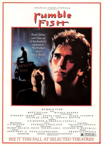 Бойцовая рыбка / Rumble Fish (1983): постер
