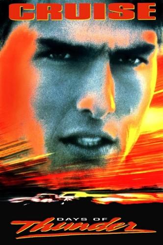 Дни грома / Days of Thunder (1990): постер