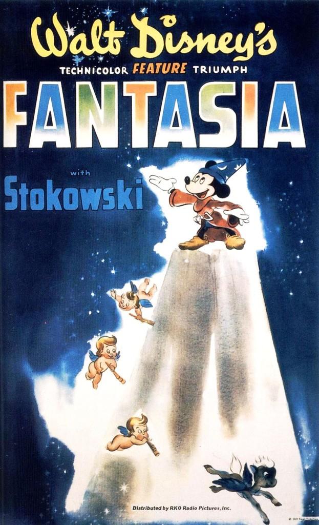 Фантазия / Fantasia (1940): постер
