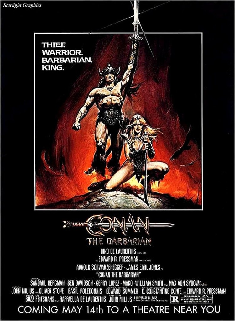 Конан-варвар / Conan the Barbarian (1982): постер