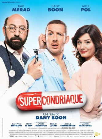 Любовь от всех болезней / Supercondriaque (2014): постер