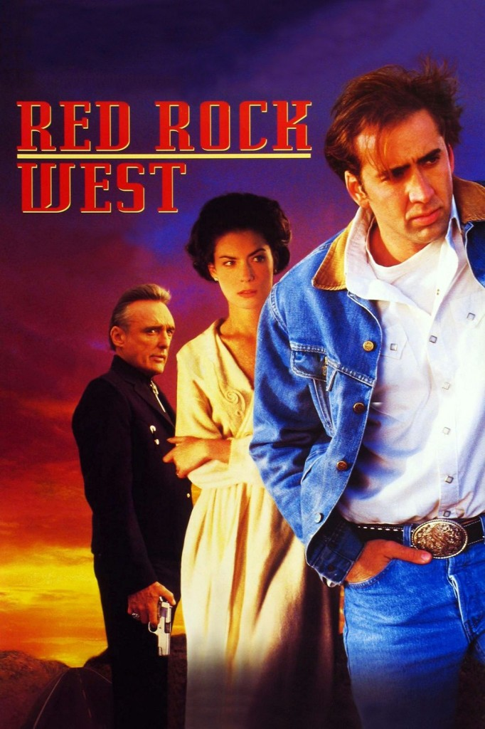 На запад от красной скалы / Red Rock West (1993): постер