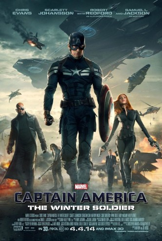 Первый мститель: Другая война / Captain America: The Winter Soldier (2014): постер