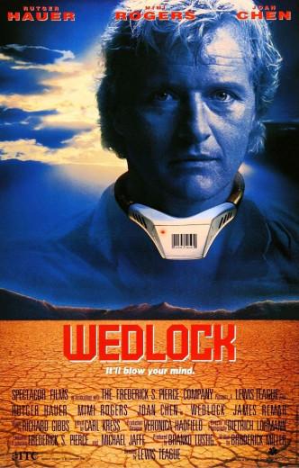 Смертельный союз / Wedlock (1991): постер